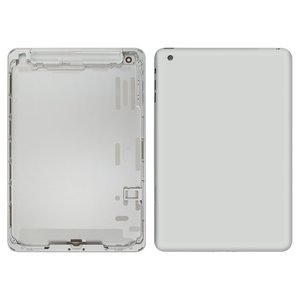 Back Cover for Apple iPad Mini Tablet, (silver, version 3G )