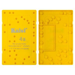Screws Tray Mat for Apple iPhone 4S Cell Phone