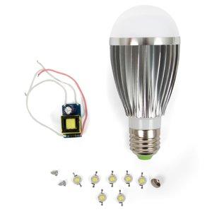 LED Light Bulb DIY Kit SQ-Q03 E27 7 W – cold white