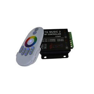 LED Sound Controller with Wireless Remote Control HTL-033 (RGB, 5050, 3528, 216 W)