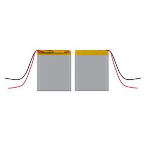 Battery, (50 mm, 33 mm, 3.2 mm, Li-ion, 3.7 V, 600 mAh)