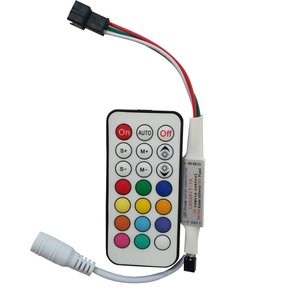 LED Controller with Radio Remote Control LED2017-RF (RGB, 1024 px, 5-24 V)