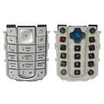 Teclado Nokia 6230, plateada, caracteres rusos