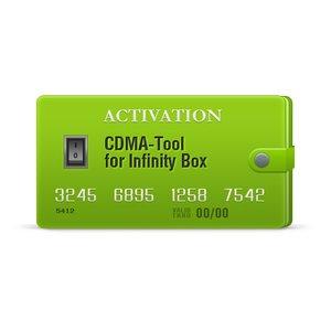 Infinity CDMA-Tool Activación