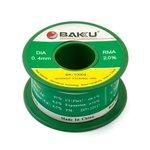 Estaño BAKU BK-10004, Sn 97% , Ag 0,3%, Cu 0,7%, flujo 2%, 0,4 mm, 50 g