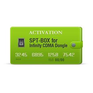 SPT-Box activación para Infinity CDMA-Tool