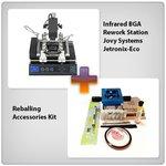 Estación de soldadura infrarroja Jovy Systems Jetronix-Eco + Juego de accesorios para reballing