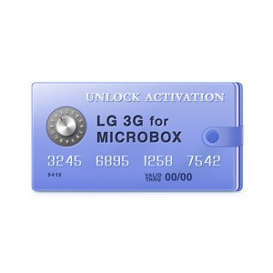 Micro-Box активация для разблокировки LG 3G