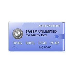 Micro-Box активация для неограниченной разблокировки Sagem