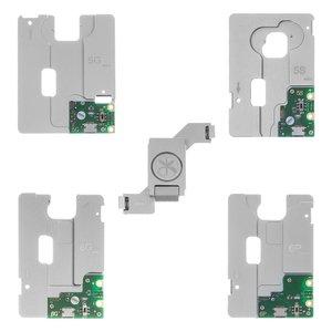 Набор разъемов KZT 5-в-1 для тестирования флеш-памяти NAND iPhone 5G / 5C / 5S / 6G / 6P