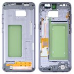 Средняя часть корпуса Samsung G950FD Galaxy S8, фиолетовая, серая, orchid gray