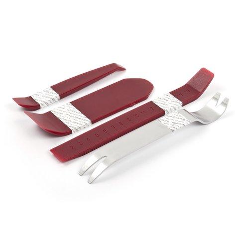 Набор инструментов для снятия обшивки 4 шт – полиуретан/сталь