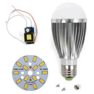 Комплект для сборки LED-лампы SQ-Q03 5730 E27 7 Вт – теплый белый