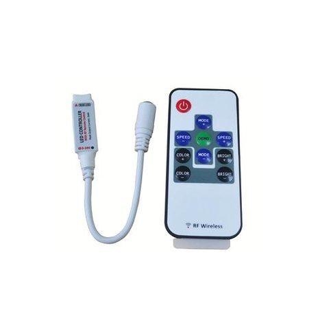Контролер з безпровідним пультом HTL-005 (RGB, 5050, 3528, 48 Вт)