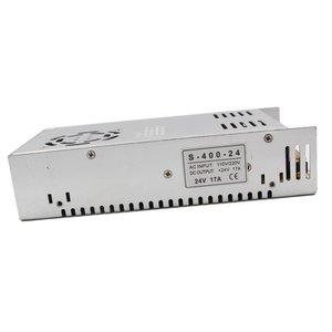 Блок живлення для світлодіодних стрічок 24 В, 17 A (400 Вт), 110-220 В