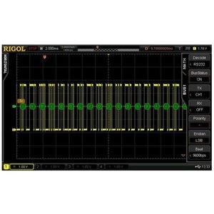 Програмне розширення RIGOL SD-RS232-DS6 для декодування RS232/UART