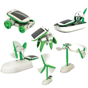 6-in-1 Solar Robot Kit CIC 21-610