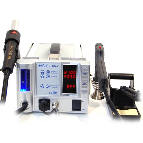 Lead Free Hot Air Soldering Station AOYUE 2702A+ 220 V