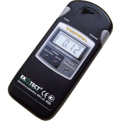 Medidor de radioactividad EcoTest TERRA MKS-05