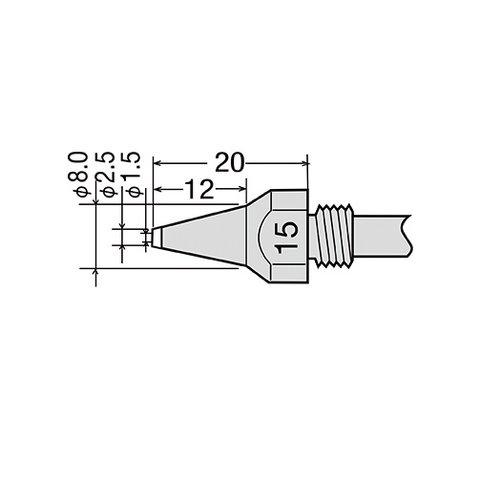 Desoldering Tip GOOT TP 100N 15
