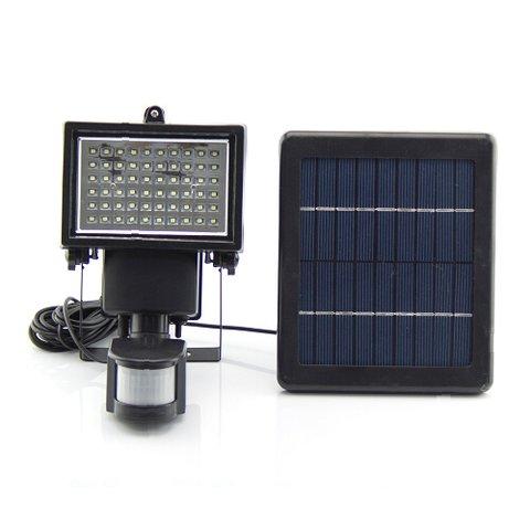 LED Solar Outdoor Light SL 60 motion sensor, 600 lm, 7.4 V, 2000 mAh