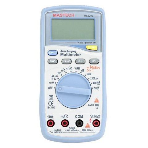 Digital Multimeter MASTECH MS8209